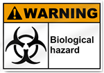 Biological Hazard Warning Signs