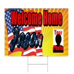 Welcome Home Sign for Army